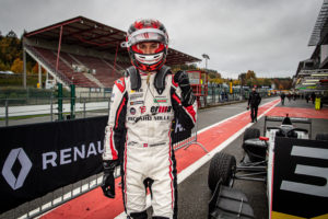 SAUCY Gregoire (che), ART Grand Prix, Formula Renault Eurocup, portrait during the 7th round of the 2020 Formula Renault Eurocup from October 22 to 23, 2020 on the Circuit de Spa-Francorchamps, in Stavelot, Belgium - Photo Alexandre Guillaumot / DPPI